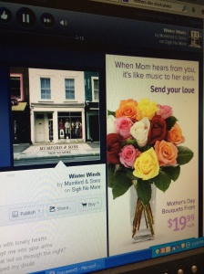 Thank you for that fine offer, Pandora, but no. I'm not sending anyone flowers this year. Again.