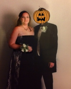 Poor High-School-Boyfriend. He missed out. But at least he's related to the Pumpkin King. Still has that going for him.